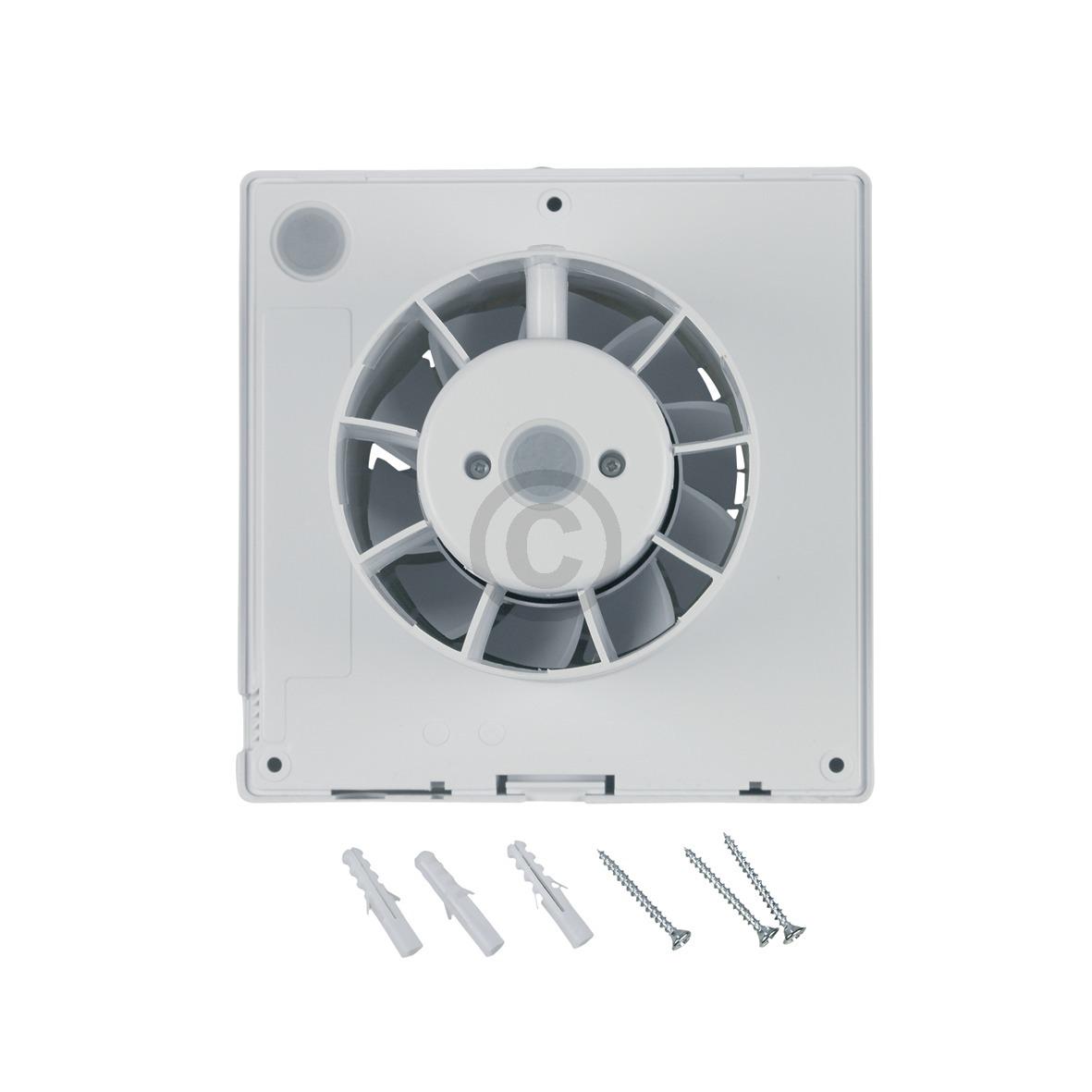 Wohnraumventilator 100erR mit Feuchtesensor für Wand Bad Toilette etc Wandlüfter