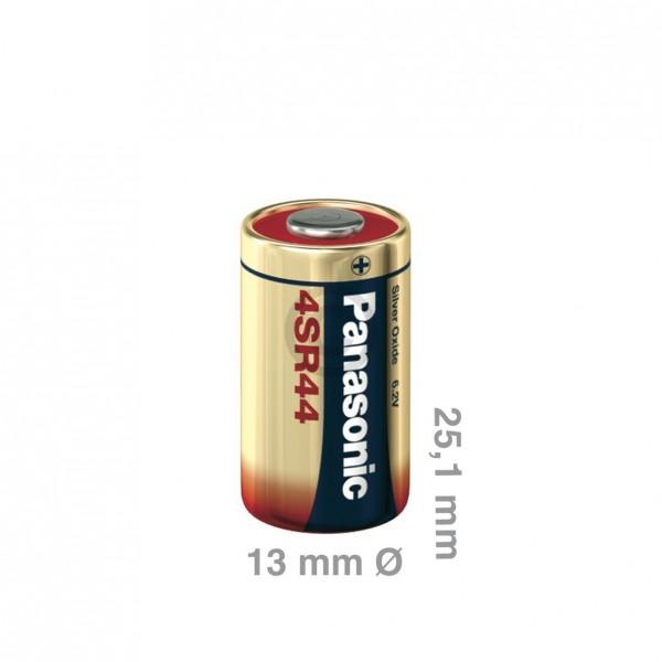 Europart Batterie/Knopfzelle 4SR44 Panasonic