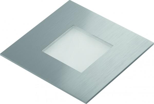 Halemeier LED QuadroPoint 3897001 Neutralweiß Edelstahl 0,6W nw 0.6 W, 12 V