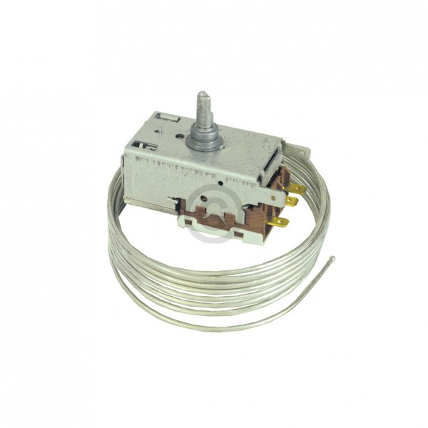 Europart Thermostat K57-L5861 Ranco 1850 mm Kapillarrohr 3 x 4,8mm AMP wie Liebherr 6151028