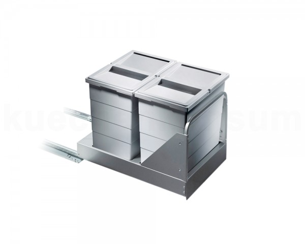 Hailo Abfallsammler 3616461 TB Swing Bottom-Mount mit Müllbeutel