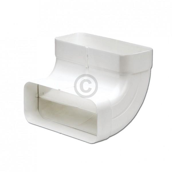 Europart Flachkanalbogen 150erSCF Naber 4043004 90° vertikal beidseitig Muffe für 222x89mm Belüftung