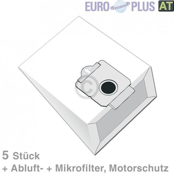 Europlus Filterbeutel Europlus MX905 u.a. für Moulinex Vectral 5 Stk