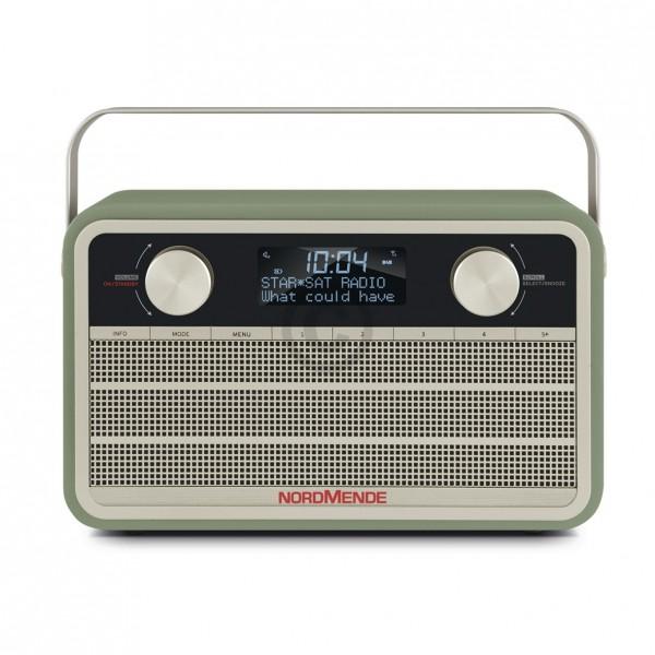 Nordmende Digitalradio 78-3001-02 Transita 120 grün Retrolook