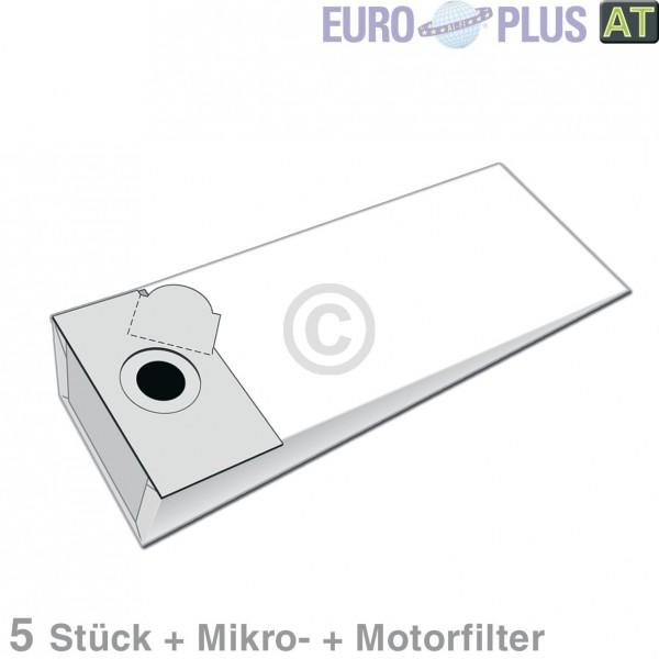 Europart Filterbeutel Europlus F709 für Fakir, Alto 5 Stk