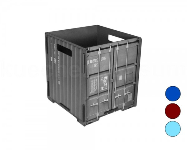 Werkhaus Papierkorb PP103 Container quadratisch 280 x 250 x 260 mm