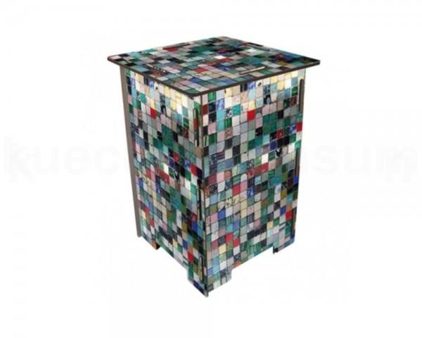 Werkhaus Photohocker SH8037 Mosaik 295 x 295 x 420 mm