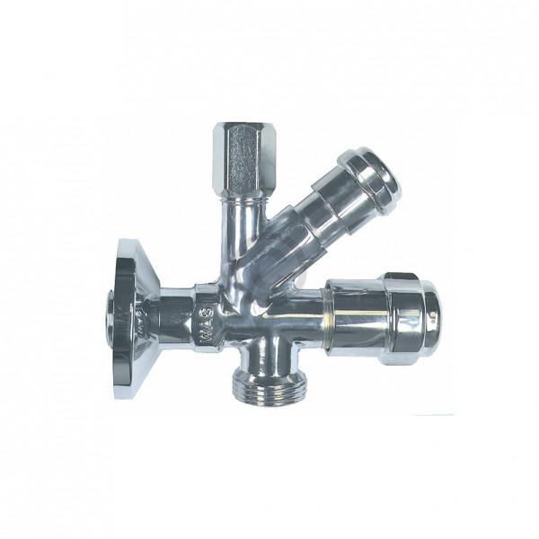 """Europart Kombi-Eckventil 1/2""""x10mm mit Geräteanschluss Grohe 41073000"""