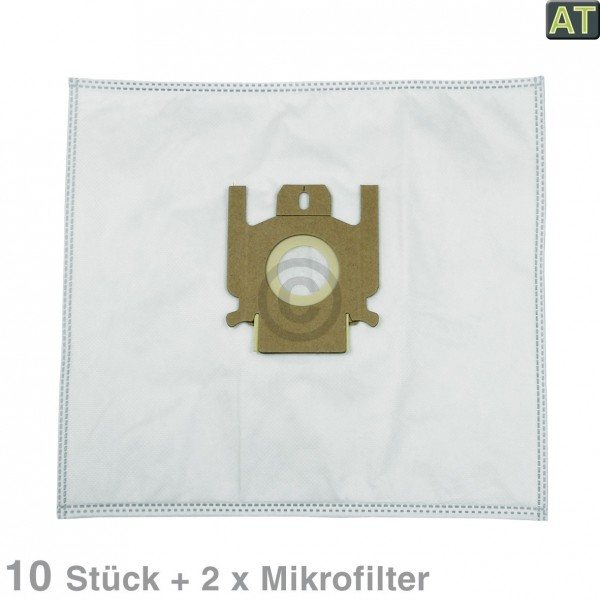 Europart Filterbeutel MisterVac MV-617 u.a. für Miele Cat & Dog 10Stk + Filtermatten