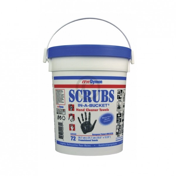 Europart Reinigungstücher für Hand+Flächen ITW Dymon Scrubs, 72er Box