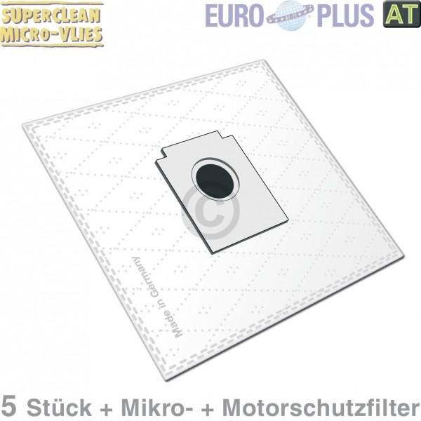 Europart Filterbeutel Europlus X104 Vlies u.a. für TipTop Beetle 5 Stk
