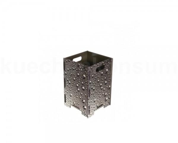 Werkhaus Papierkorb PP9054 gross Wassertropfen 260 x 260 x 410 mm