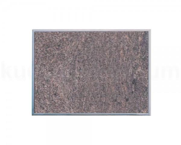 Einbau Granitfeld Paradiso inkl. Edelstahlwanne 510 x 325 x 10 mm