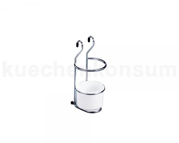 Linero Classic kleiner Köcherhalter verchromt 125 x 135 x 260 mm