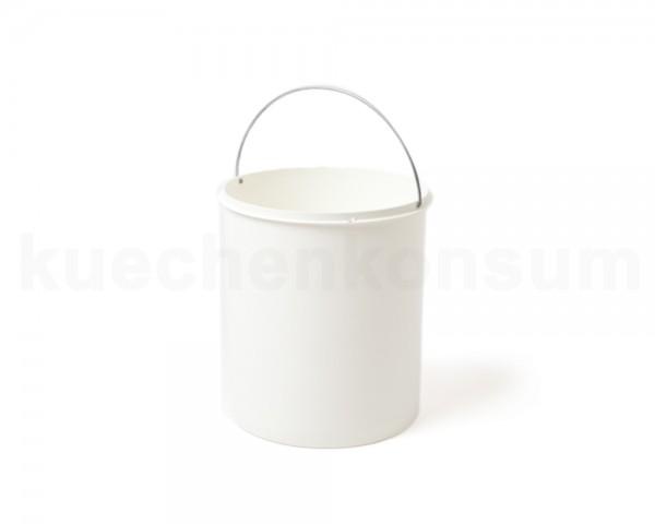 Hailo 15 Liter Ersatzeimer 1082619 weiß rund 272 x 305 mm mit Henkel