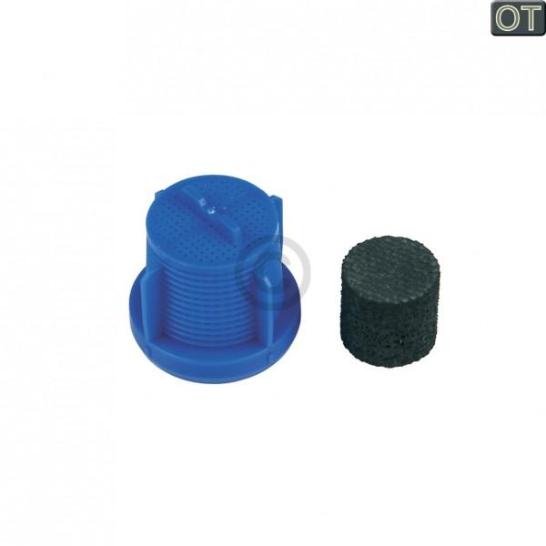 Miele Sieb + Schalldämpfer für Zulaufschlauch Aquastopschlauch