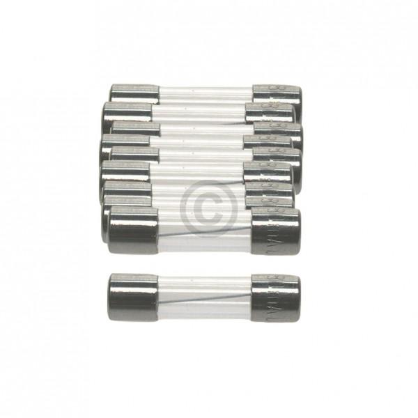 Europart DIN-Sicherung 2,5A träge 5x20mm Feinsicherung 10Stk
