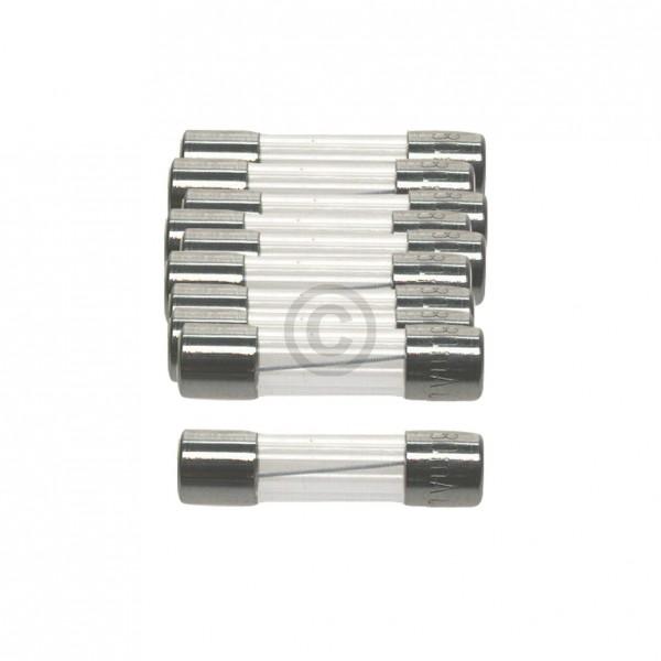 Europart DIN-Sicherung 0,8A träge 5x20mm Feinsicherung 10Stk
