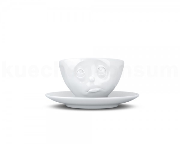 TV Tasse Espressotasse 17 Och Bitte weiß