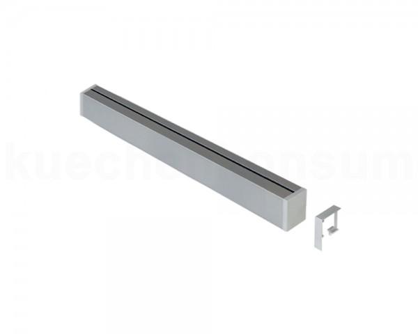 Linero MosaiQ Relingprofil Aluprofil 600 mm Edelstahloptik