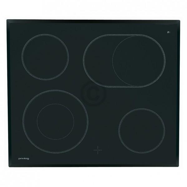 Electrolux Glaskeramikplatte Privileg 387051911/7 für Kochfeld Herd