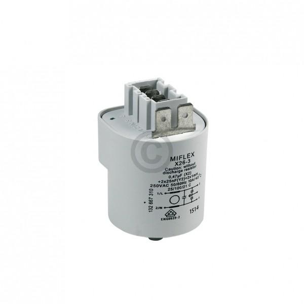 Electrolux Entstörfilter 0,47µF Electrolux 379274000/7 für Waschmaschine