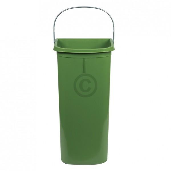 Hailo Inneneimer 170x185x365mm 8 Liter Hailo 1082399 grün für Einbau-Abfallsammlersystem