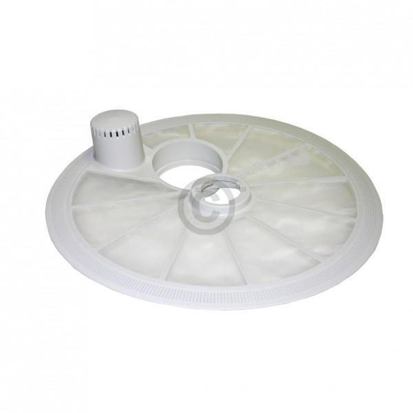 Europart Sieb ZANUSSI 5022280300/4 Grobsieb weiß Tellerform für Geschirrspüler