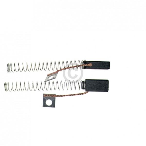 Europart Kohlen 5x8x17mm mit Kabel Feder Fahnenschuh Abschaltorgan