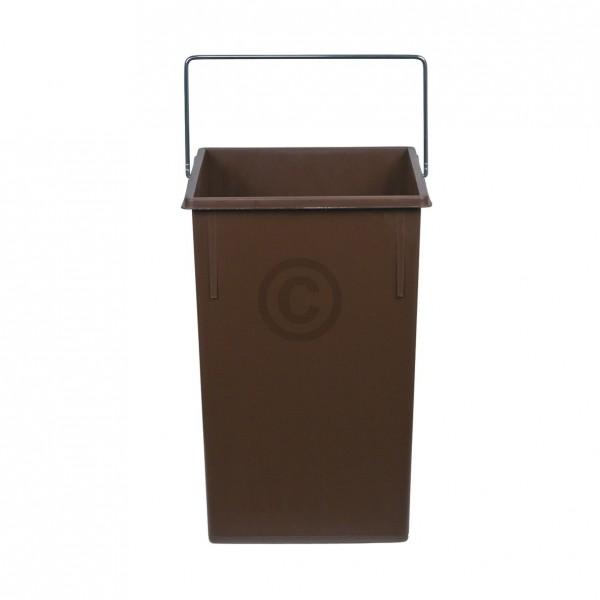 Hailo Inneneimer 230x220x350mm 15 Liter Hailo 1073269 braun für Einbau-Abfallsammlersystem