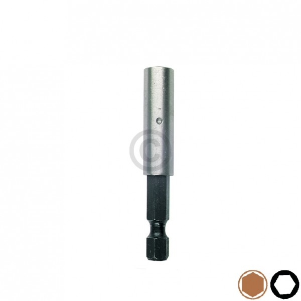 """Europart Bit-Halter 1/4"""" x 58mm magnetisch Universal"""