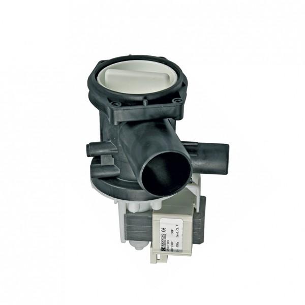 Europart Ablaufpumpe wie BOSCH 00144488 HANNING mit Pumpenkopf und Sieb für Waschmaschine