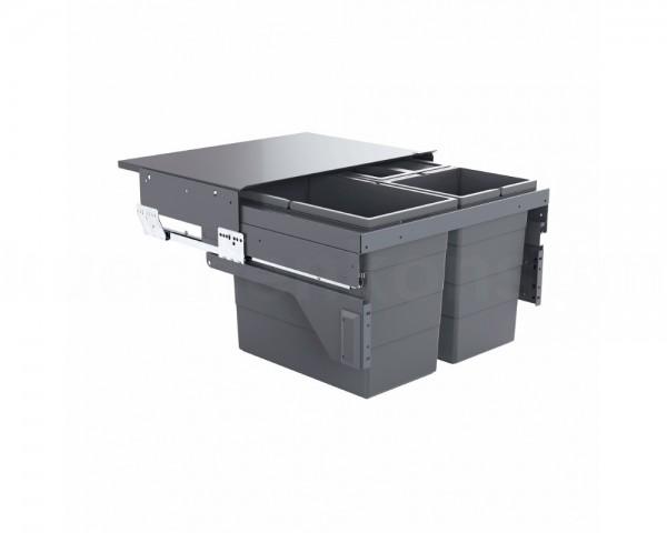 Hailo Abfallsammler 3610851 Cargo 600 Slide 54 Liter