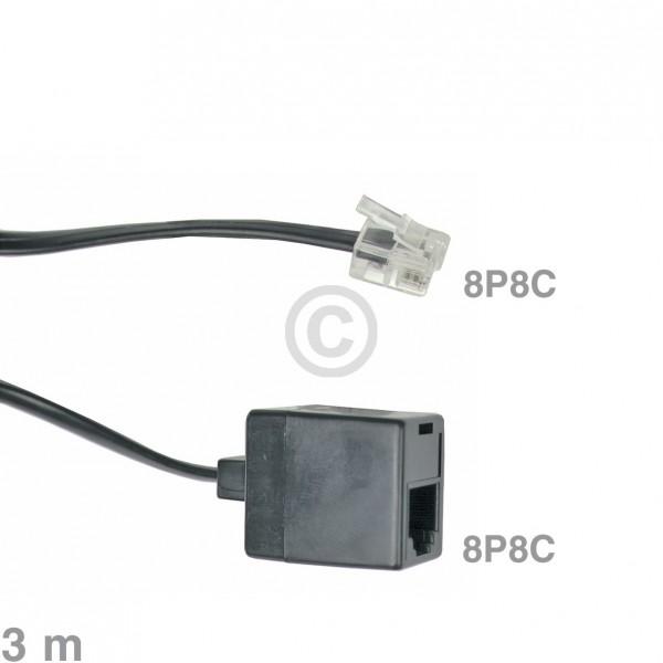 Europart Kabel Modular-Verlängerungskabel 8P8C 3m