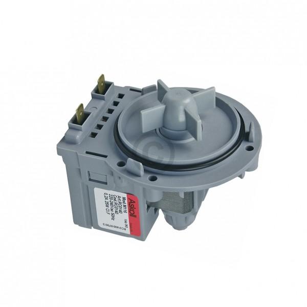Europart Ablaufpumpe wie Siltal 49583100 Askoll Pumpenmotor für Waschmaschine
