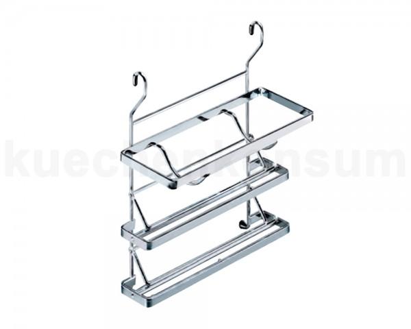 Linero Classic Rollenhalter 3-etagig verchromt 325 x 155 x 365 mm