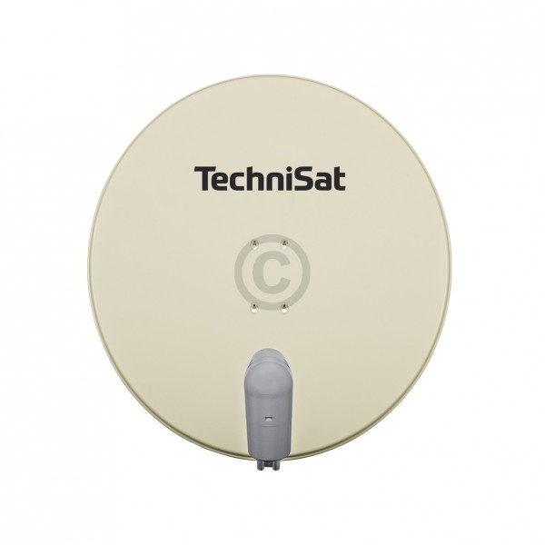 TechniSat SAT-Antenne 85 cm beige QuatroLNC Halterung