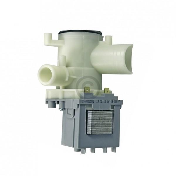 Europart Ablaufpumpe wie BOSCH 00141124 Askoll mit Pumpenkopf und Sieb für Waschmaschine Waschtrockn