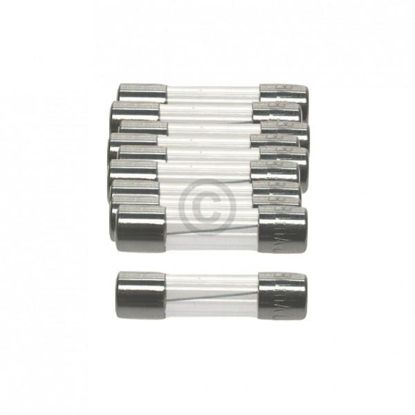 Europart DIN-Sicherung 1,0A träge 5x20mm Feinsicherung 10Stk