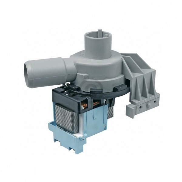 Europart Ablaufpumpe wie Siltal 49568601 Plaset mit Pumpenkopf für Waschmaschine