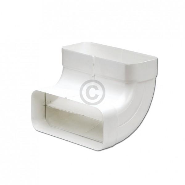 Europart Flachkanalbogen 125erSCF Naber 4033013 90° vertikal beidseitig Muffe für 169x77mm Belüftung