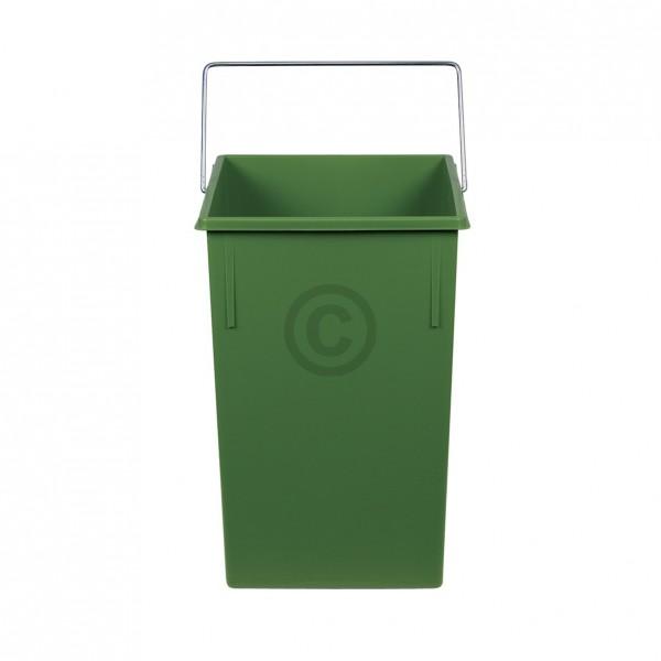 Hailo Inneneimer 230x220x350mm 15 Liter Hailo 1073259 grün für Einbau-Abfallsammlersystem