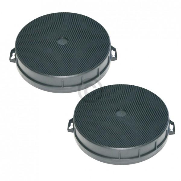 Europart Kohlefilter BOSCH 00353121 200/210 mm für Dunstabzugshaube 2Stk