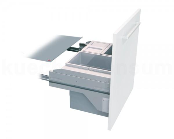 Hailo Abfallsammler 3610681 CS Slide Cargo-Soft Short 2x 10 + 20 Liter