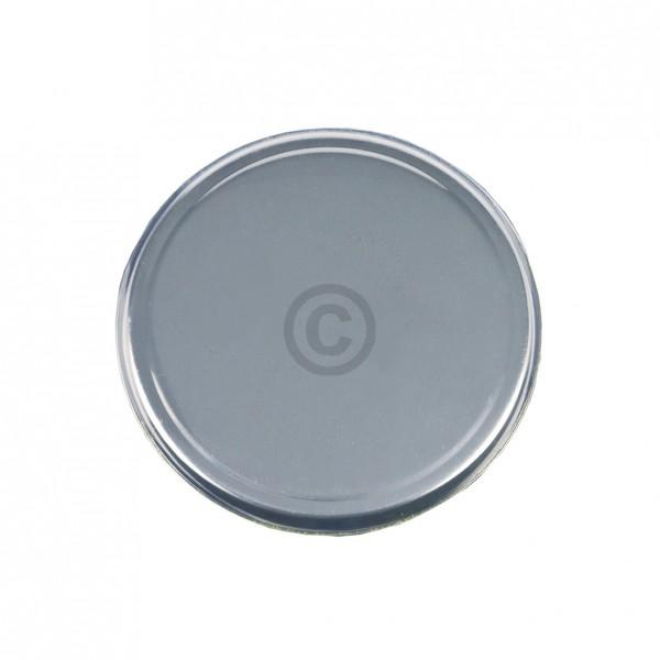 Europart Kochplattenabdeckung silbern für 185mm runde Gussplatte Massekochplatte Kochfeld Herd