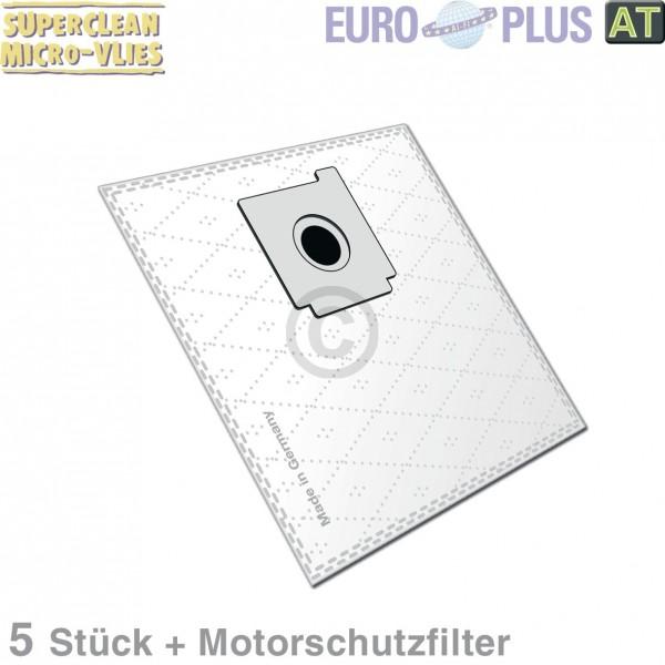 Europart Filterbeutel Europlus Z7009 Vlies u.a. für Hanseatic 5 Stk
