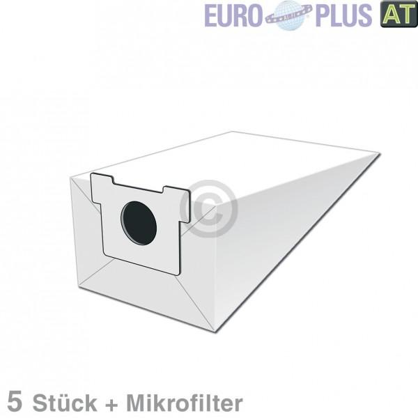 Europart Filterbeutel Europlus PA1706 für Panasonic MCE 5 Stk