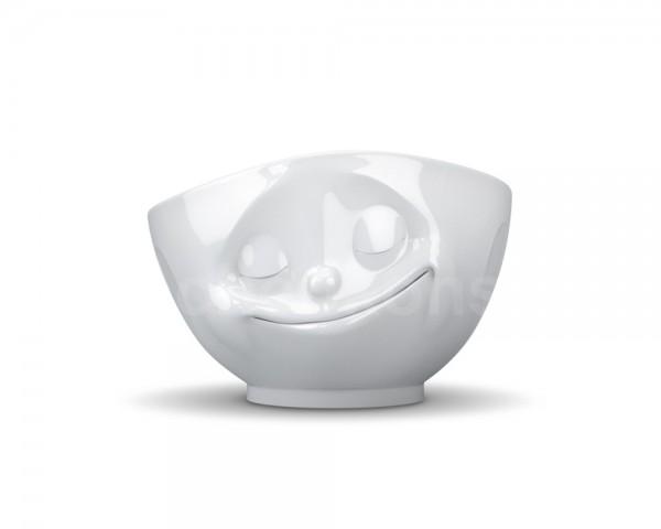 TV Tasse Schale 24 glücklich 1000 ml weiß
