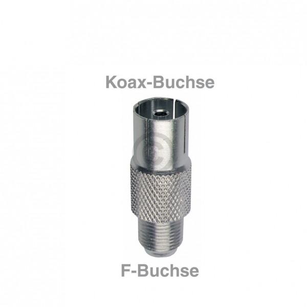 Europart Adapter F-Buchse/Koax-Buchse