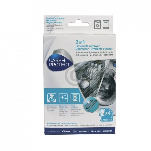 CandyHoover Maschinen-Reiniger CANDY 35601769 CDP1004 Care+Protect für Waschmaschine Geschirrspüler